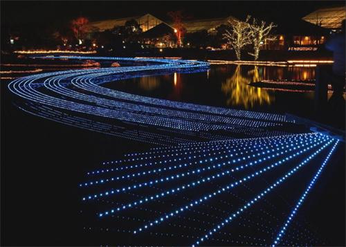 历史,环境特色,弘扬园林创意设计理念,用灯光创意园林文化.